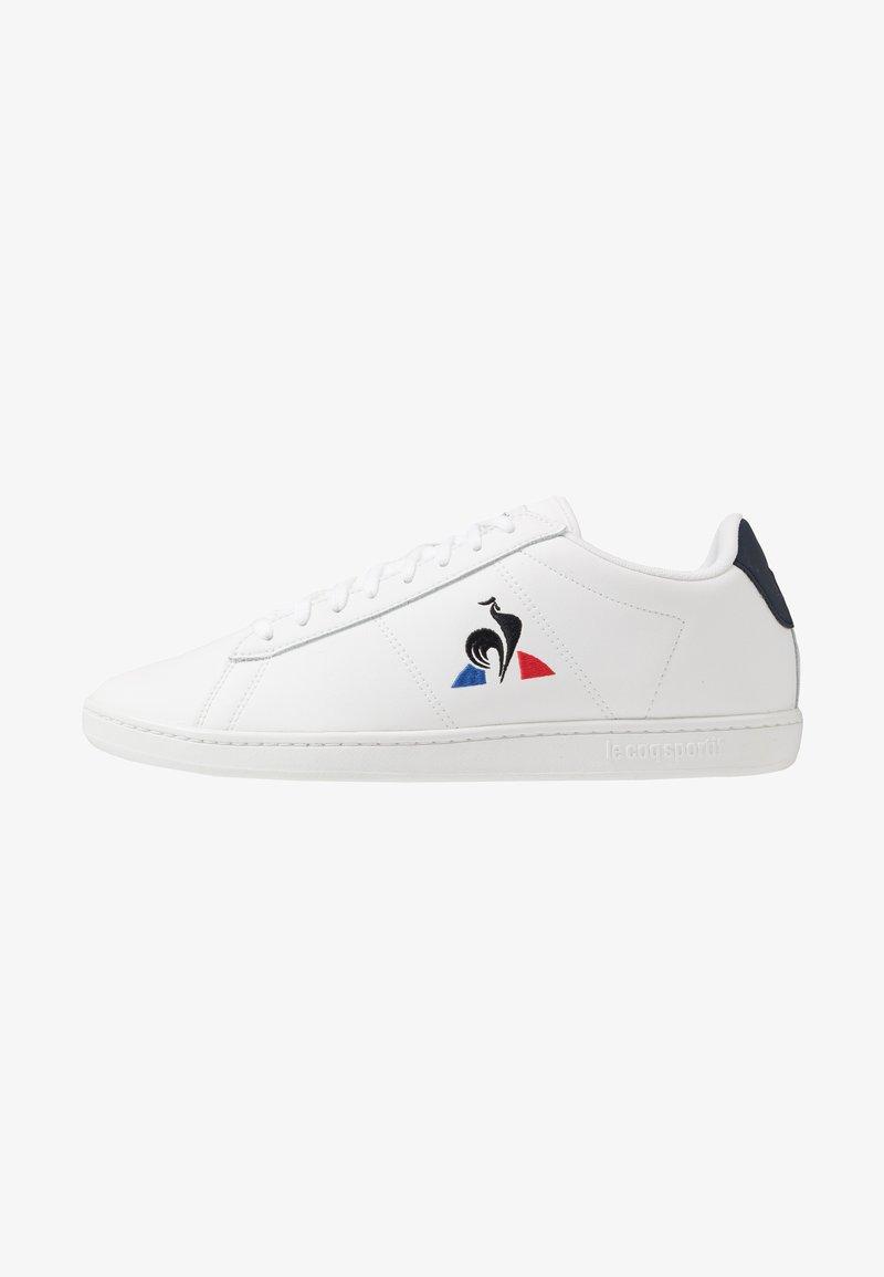 le coq sportif - COURTSET - Zapatillas - optical white/dress blue