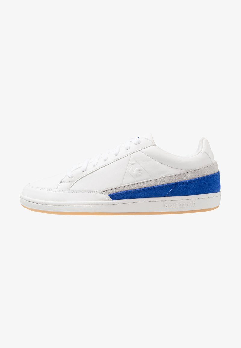 le coq sportif - COURTCLAY - Sneaker low - optical white/cobalt
