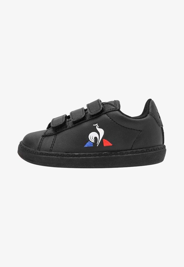 COURTSET - Sneakers laag - black