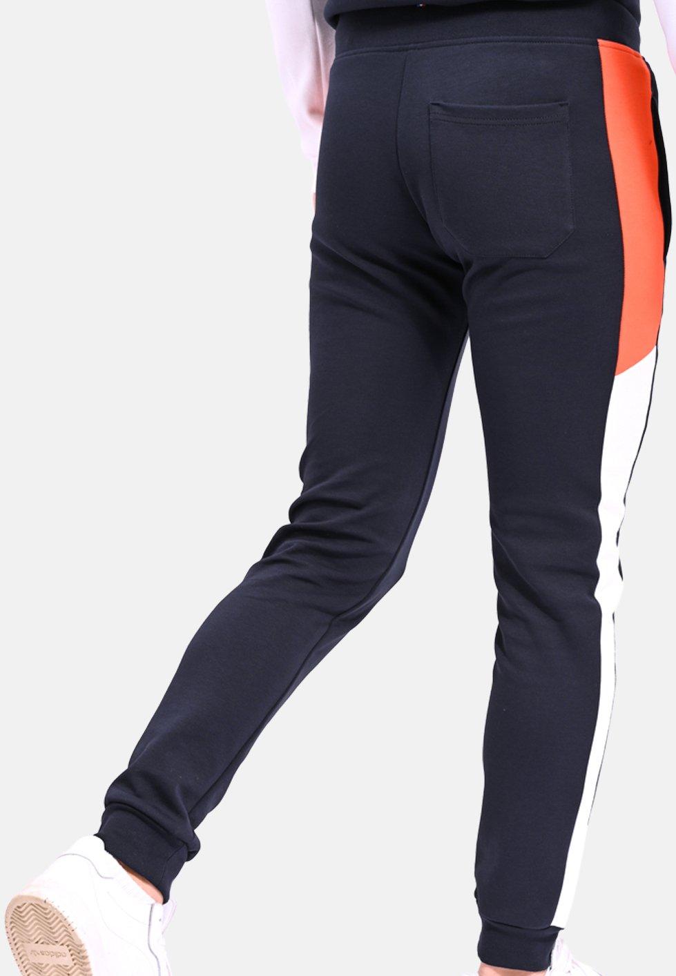 le coq sportif ESS SAISON - Tracksuit bottoms - white