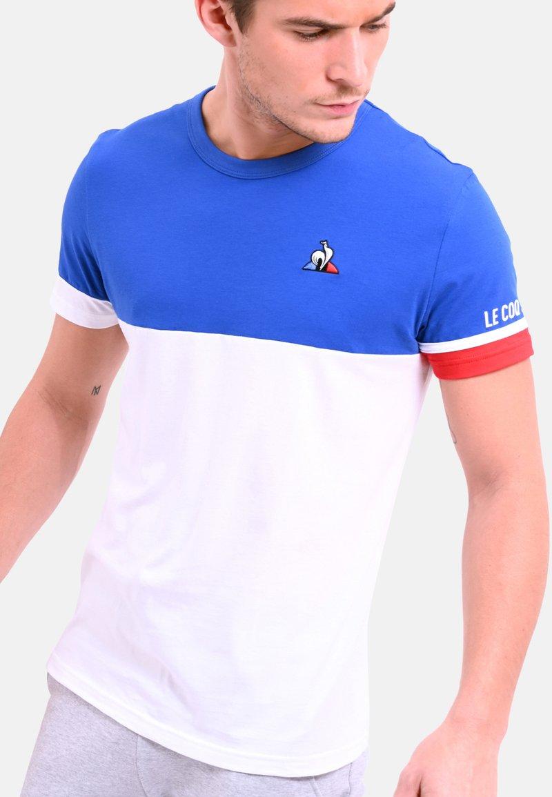 le coq sportif - T-shirt print - cobalt blue