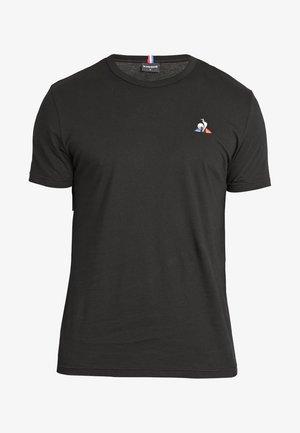ESS TEE - Basic T-shirt - black