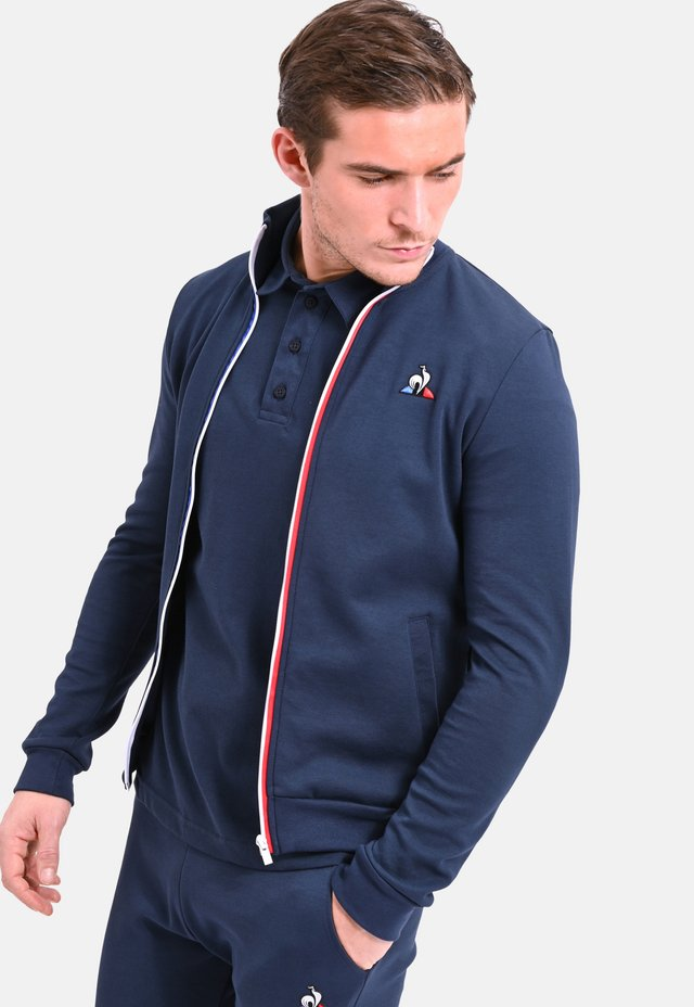 ESS FZ - veste en sweat zippée - navy blue