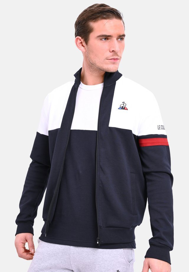 TRI FZ - veste en sweat zippée - navy blue