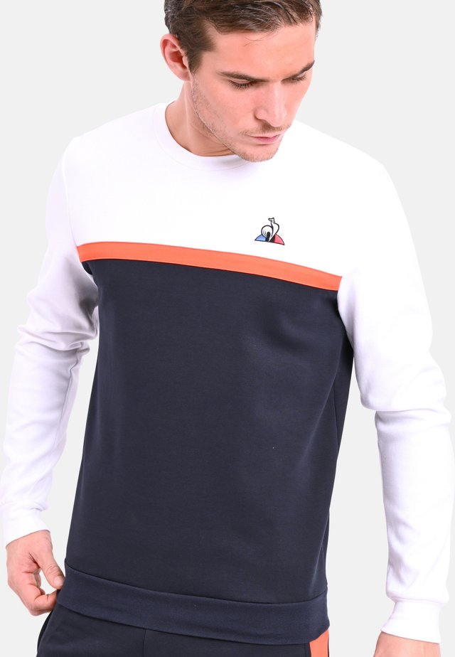 ROUND NECK - Sweatshirt - orange