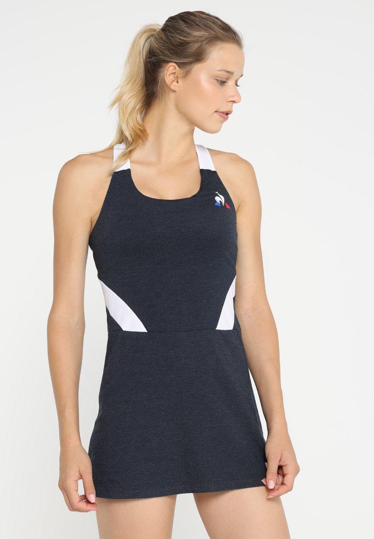 le coq sportif - TENNIS ROBE - Sportovní šaty - dress blues