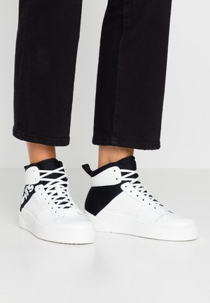 MULLET  - Baskets montantes - black/white