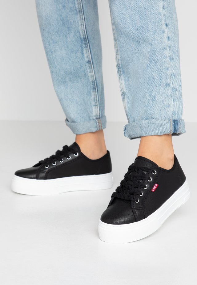 TIJUANA - Sneaker low - brilliant black