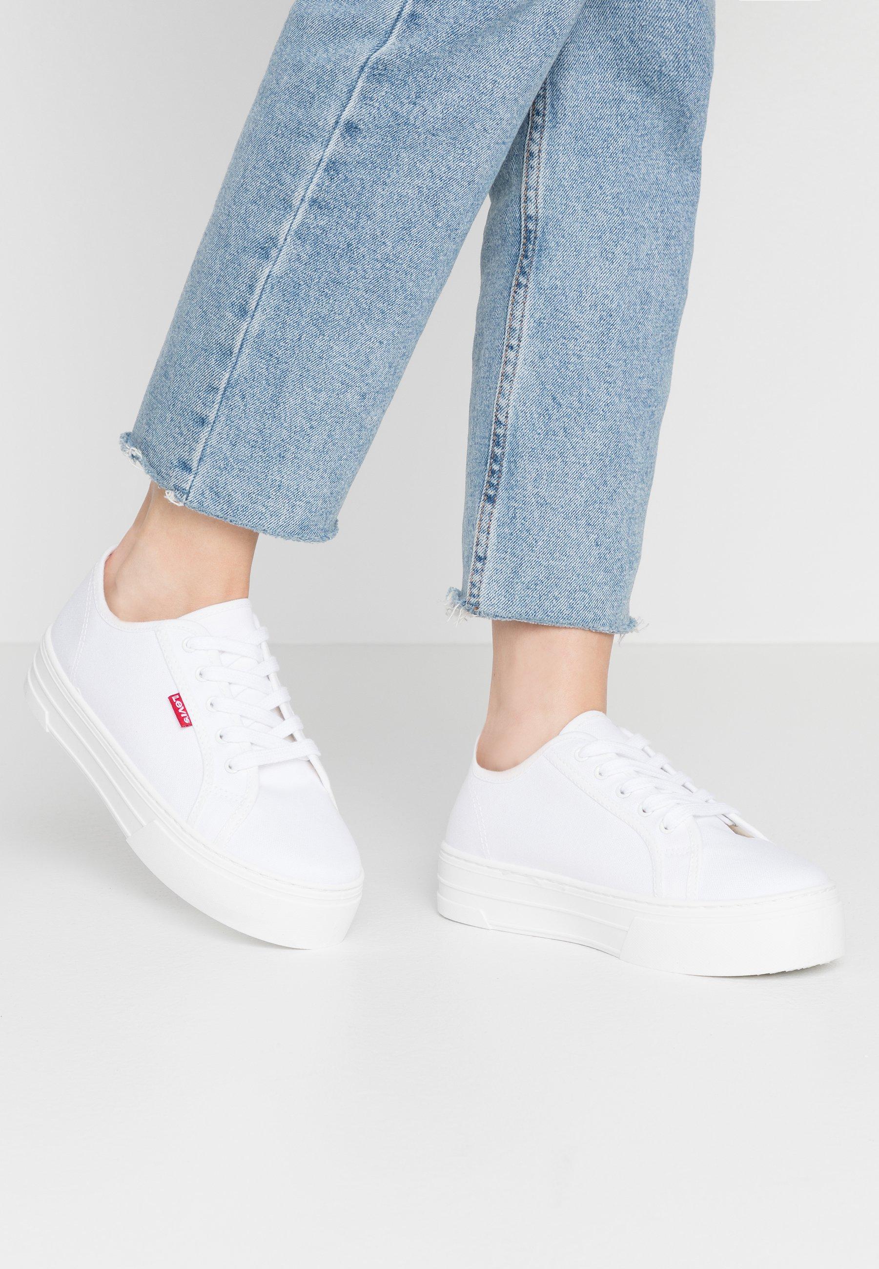 Levi's® TIJUANA - Sneakersy niskie - brilliant white