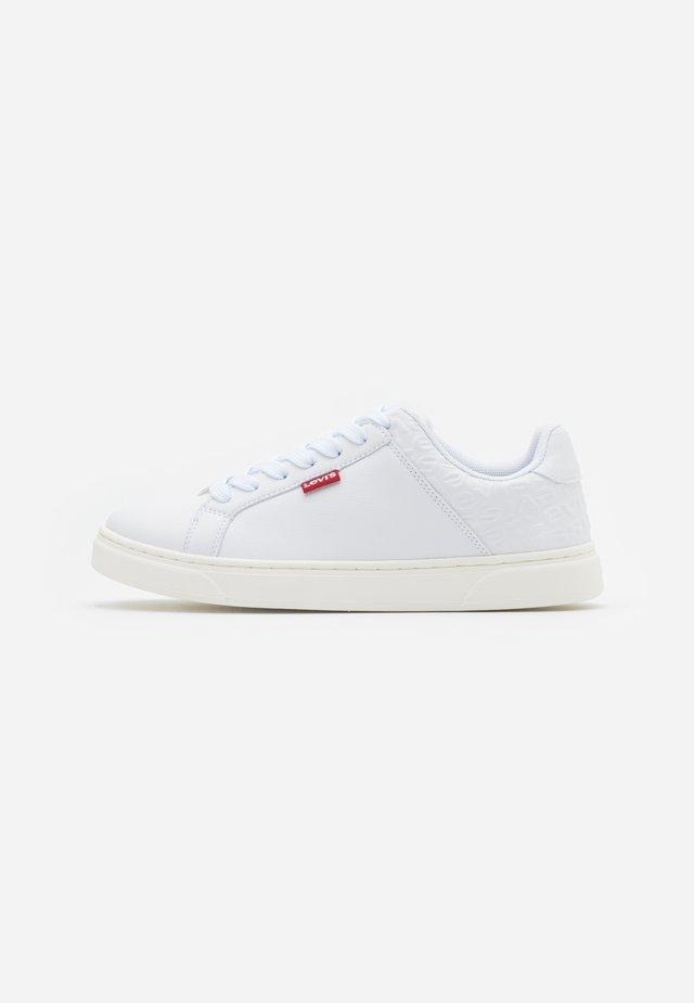 CAPLES - Sneaker low - regular white