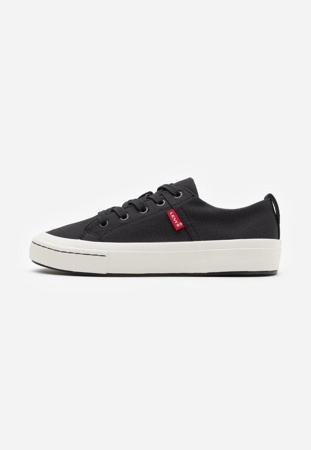 SHERWOOD  - Sneakersy niskie - regular black