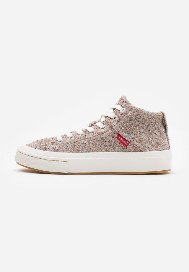 SHERWOOD  - Sneakersy wysokie - beige