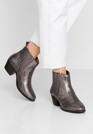WESTERN FOLSOM - Kotníková obuv - silver old look