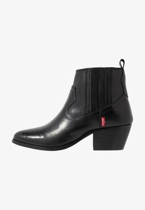 WESTERN FOLSOM - Ankle boot - regular black