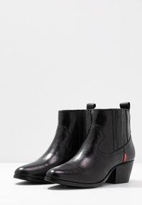 Levi's® - WESTERN FOLSOM - Ankle boots - regular black - 4