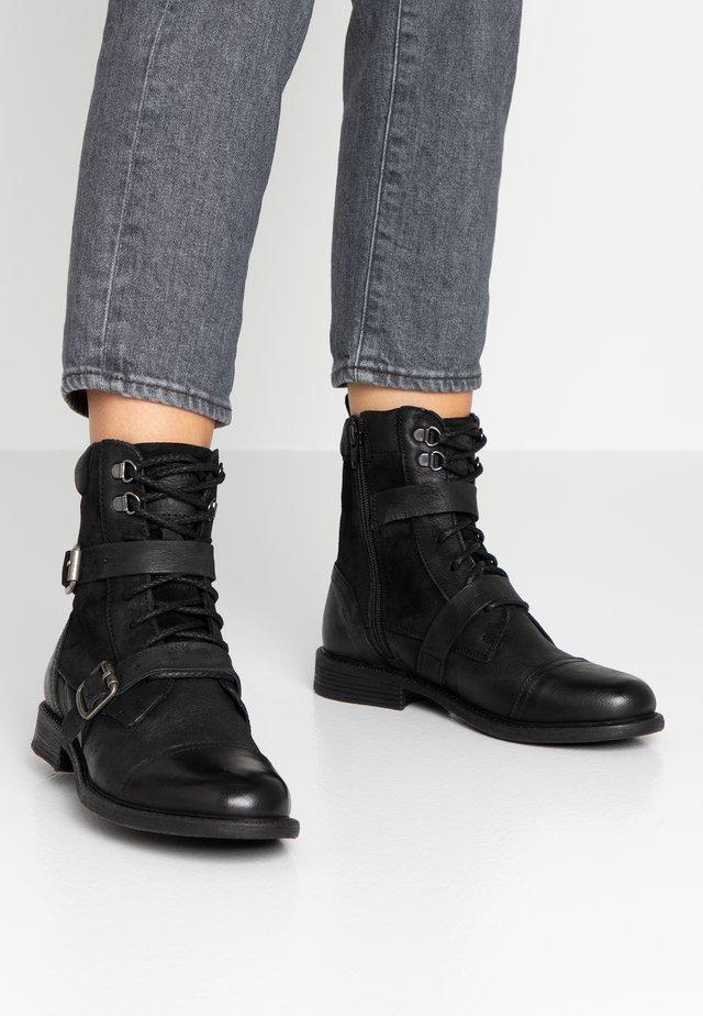 MAINE - Cowboystøvletter - regular black