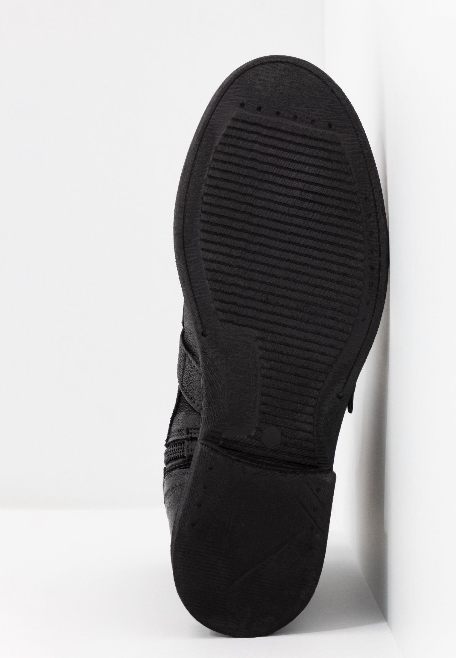 Levi's® MAINE - Cowboy- / Bikerstövletter - regular black