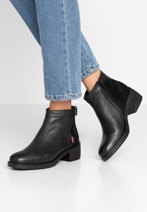 MEISS - Ankle Boot - regular black