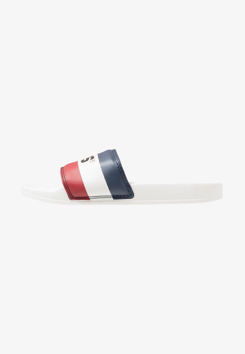 Levi's® - JUNE SPORTSWEAR - Matalakantaiset pistokkaat - brilliant white