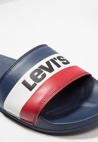 Levi's® - JUNE SPORTSWEAR - Sandalias planas - royal blue - 5