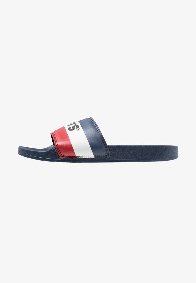 Levi's® - JUNE SPORTSWEAR - Sandalias planas - royal blue