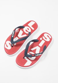 Levi's® - DELAMAR - Pool shoes - brilliant red - 5