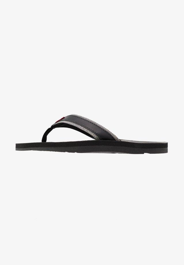 JURUPA - Sandaler m/ tåsplit - regular black