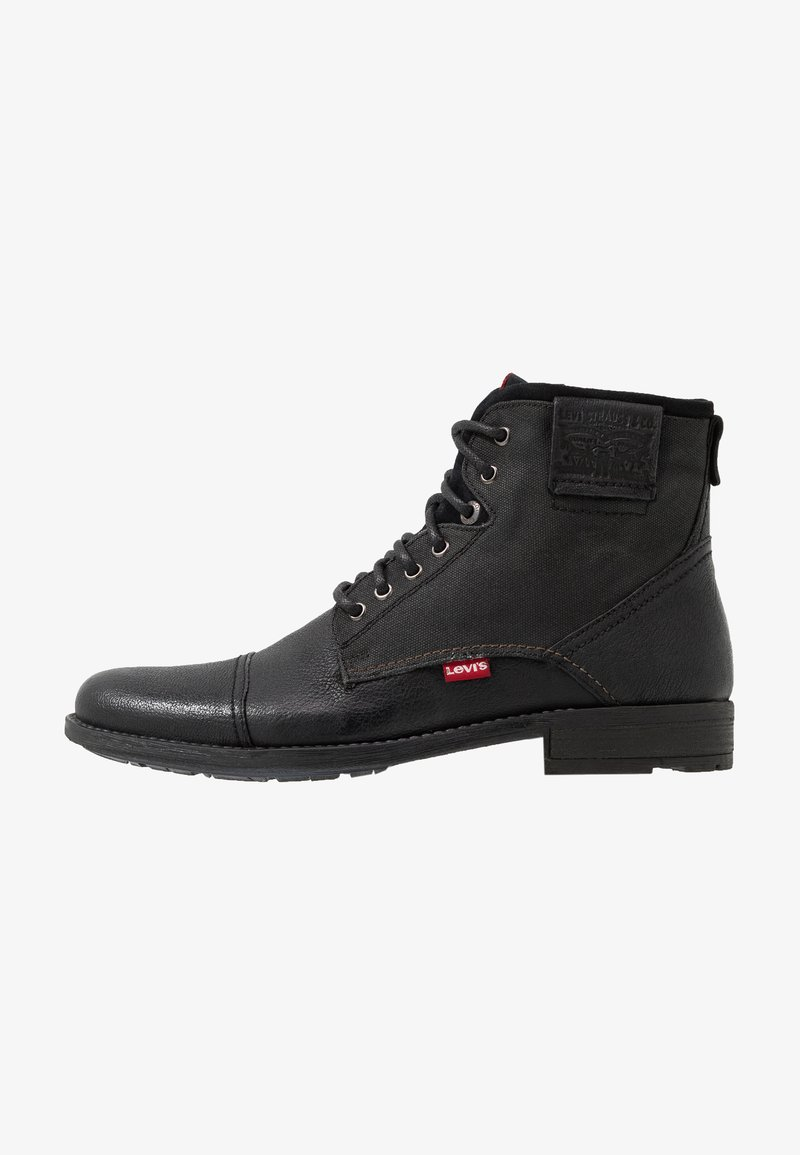 Levi's® - FOWLER - Lace-up ankle boots - regular black