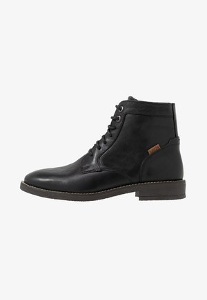 WHITFIELD - Stivaletti stringati - regular black