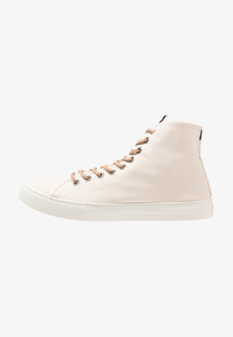 Levi's® - EDWARDS MID - High-top trainers - light beige