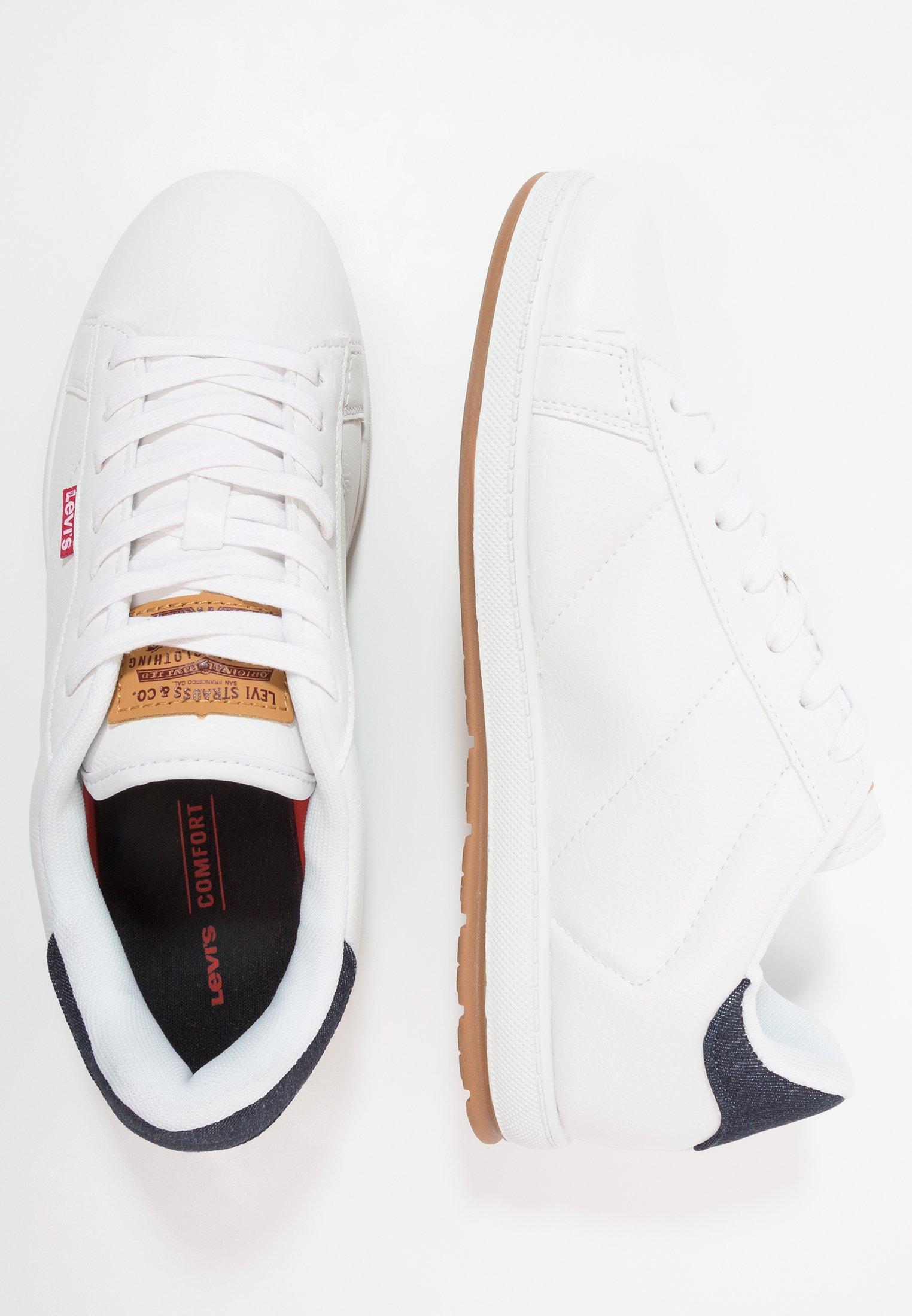 Levi's® - DECLAN MILLSTONE - Zapatillas - regular white