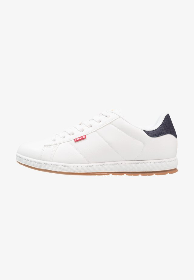 DECLAN MILLSTONE - Sneakers laag - regular white