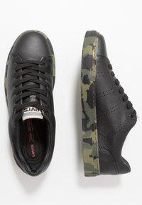 Levi's® - VERNON SPORTSWEAR - Sneakers basse - regular black - 1