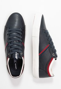 Levi's® - WOODWARD COLLEGE - Trainers - navy blue - 1