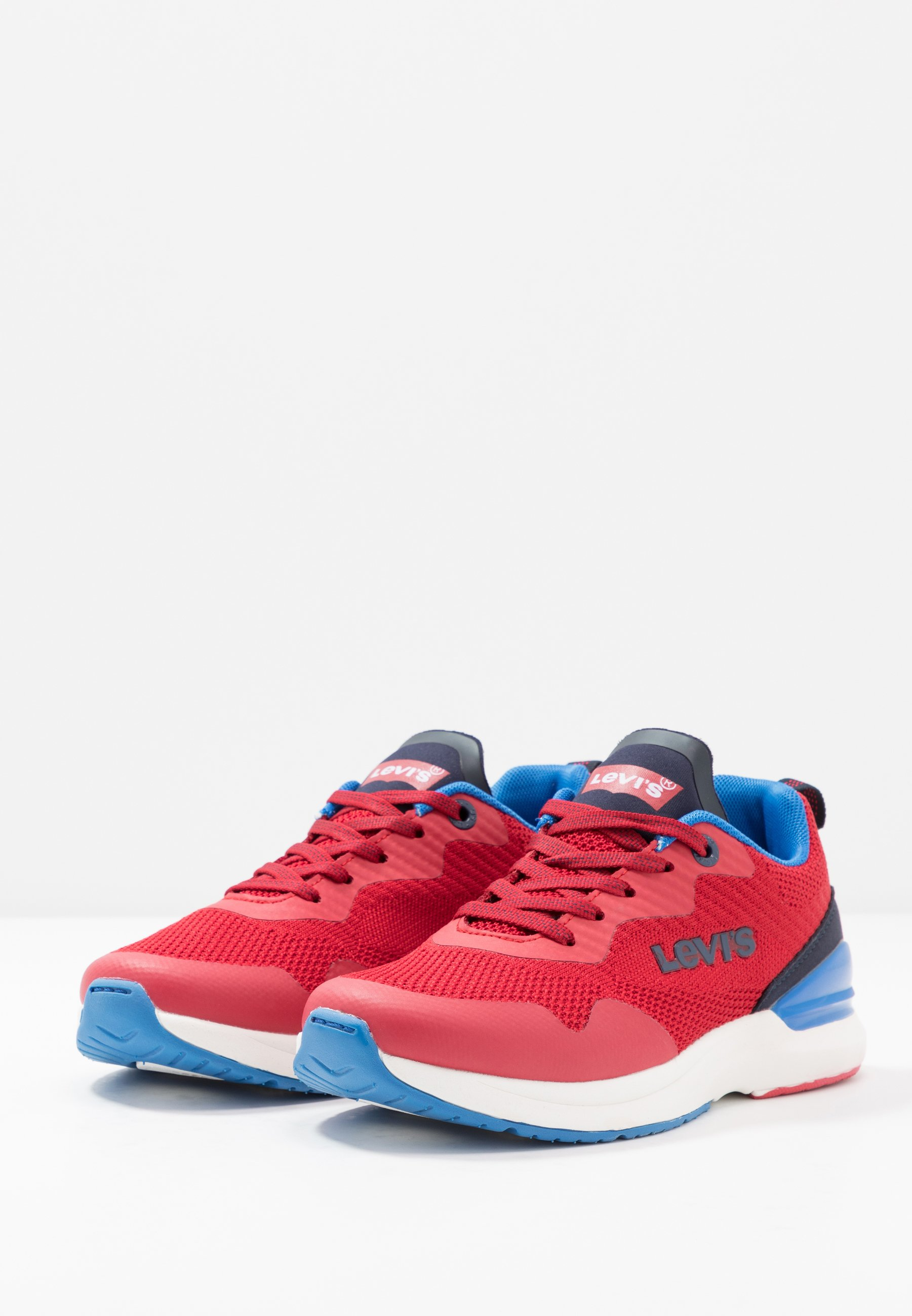 Levi's® FUSION - Sneakersy niskie - navy/red
