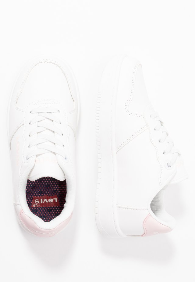 UNION  - Sneakers laag - white/pink