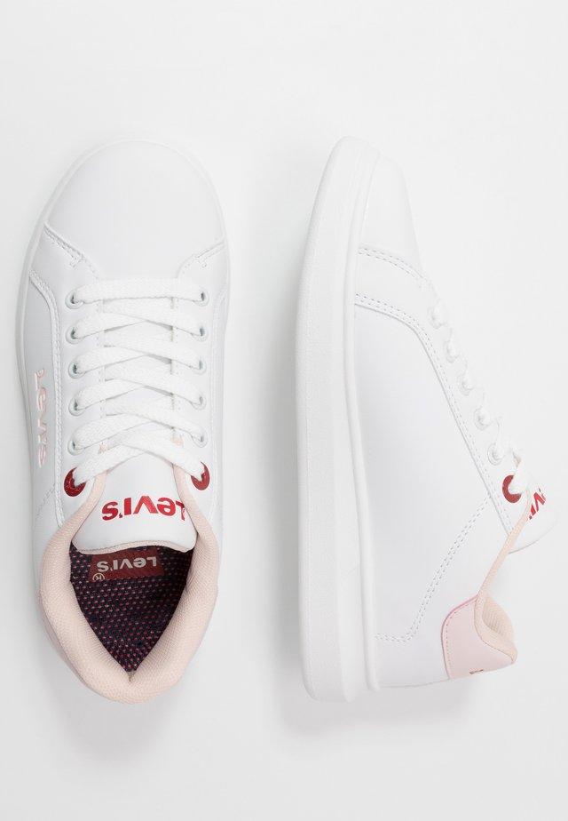 ELLIS - Trainers - white/pink