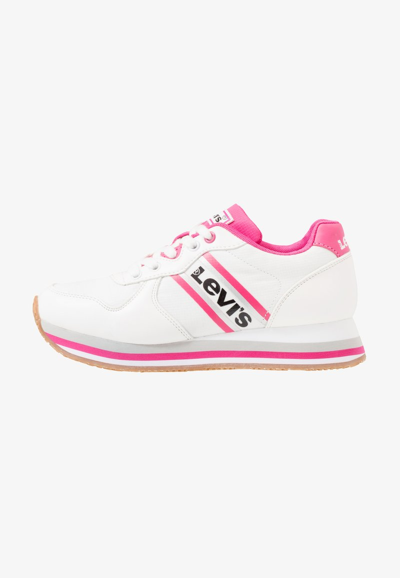 Levi's® - HOLLYWOOD  - Baskets basses - white/pink