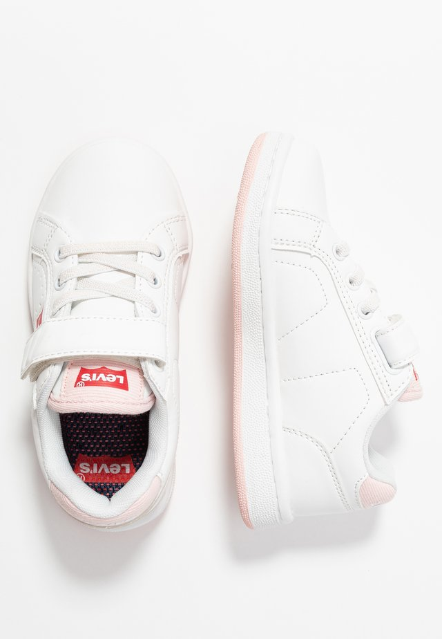 DYLAN - Sneakers laag - white/pink