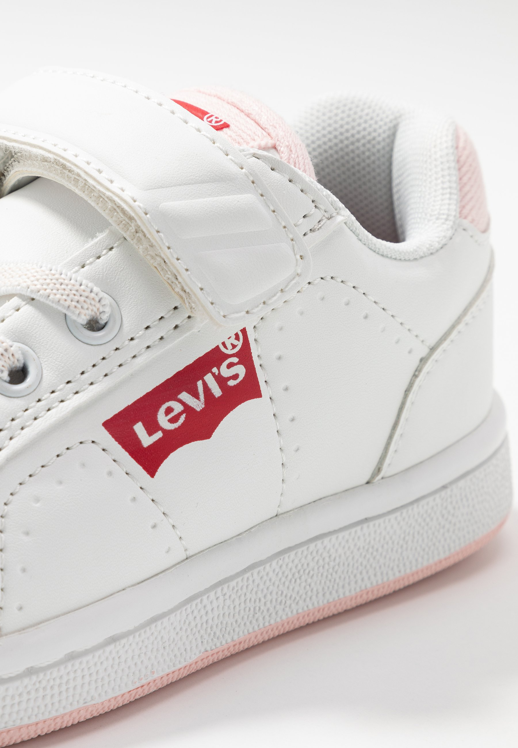 Levi's® DYLAN - Sneakersy niskie - white/pink