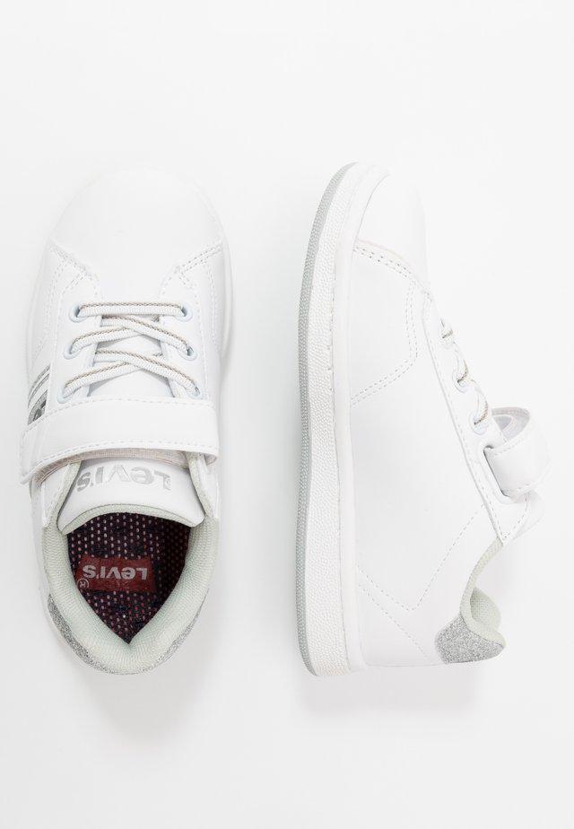 BRANDON  - Sneakers - white/silver