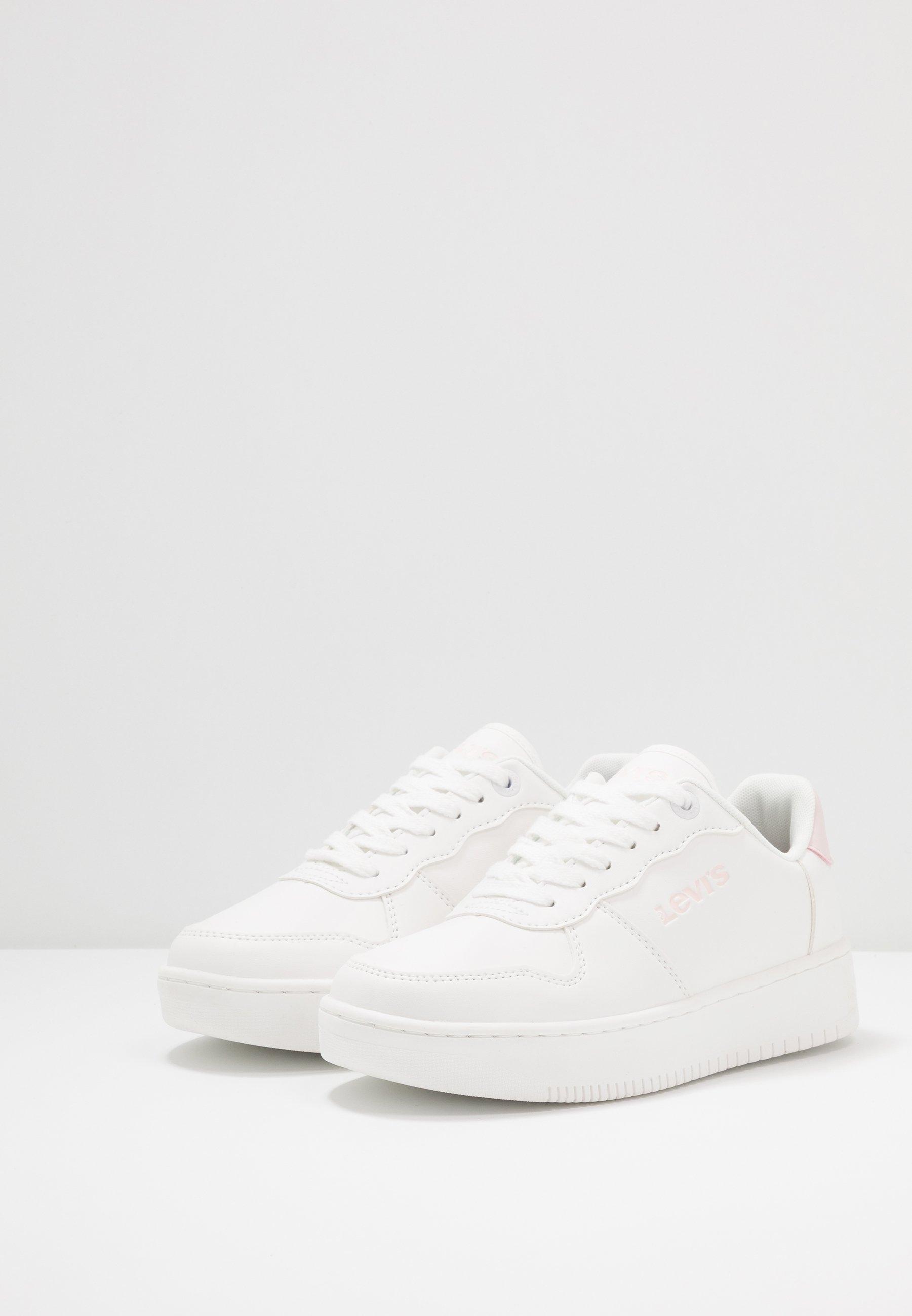 Levi's® UNION 1955 - Sneakersy niskie - white/pink