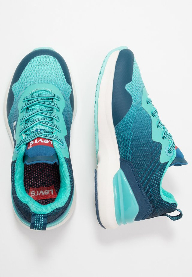FUSION - Sneaker low - green/navy