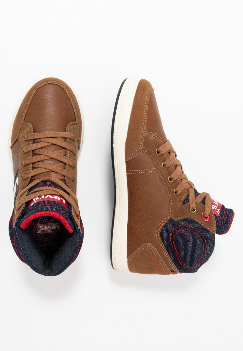 Levi's® - NEW MADISON MID - High-top trainers - cognac