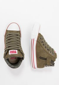 Levi's® - NEW YORK - Sneakers high - khaki - 0