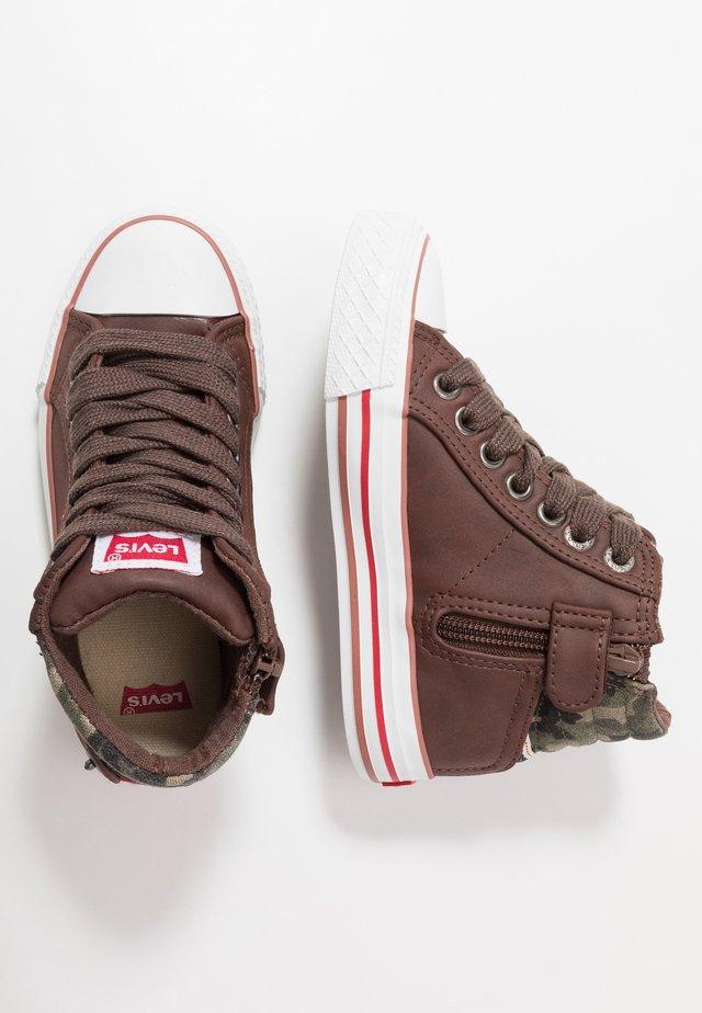 NEW YORK - Sneakers hoog - brown