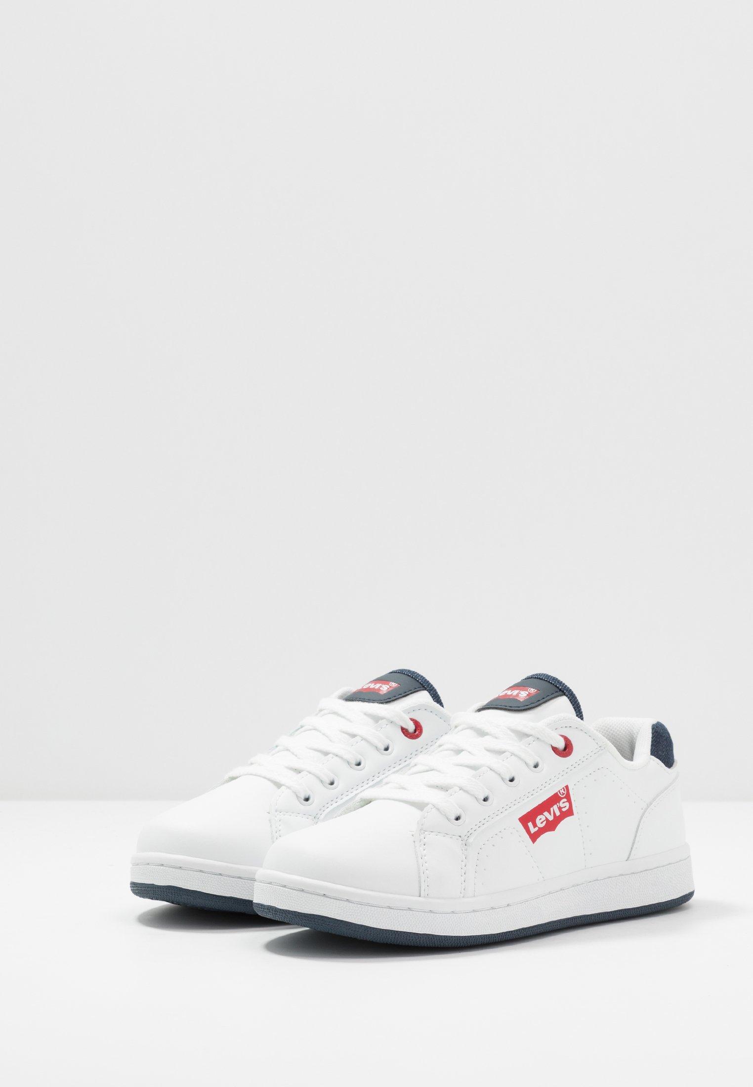 Levi's® DYLAN - Sneakersy niskie - white