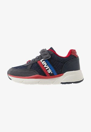 OREGON - Trainers - navy/red