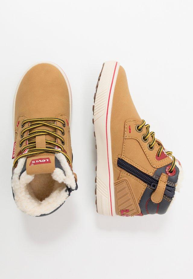 NEW PORTLAND MID - Höga sneakers - camel