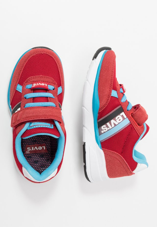 OREGON - Sneakers - red/turquoise